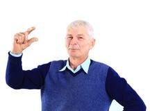 человек старый Стоковое Изображение