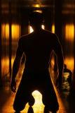 Человек тайны силы Стоковое Фото