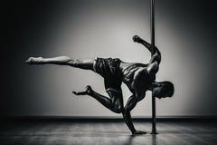 Человек танцев поляка Стоковое Фото