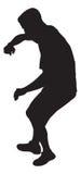 человек танцы Стоковые Фото