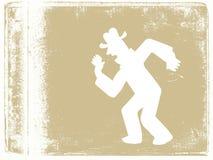 Человек танцы стоковое изображение