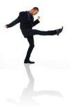 человек танцы Стоковые Фотографии RF