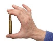 человек удерживания руки патрона Стоковое Изображение