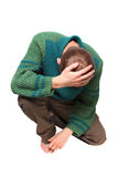 человек унылый Стоковые Фотографии RF