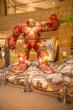 Человек утюга панцыря Hulkbuster Стоковое Изображение RF