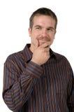 человек франтовской Стоковое Изображение RF