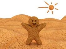 человек хлеба Стоковое Фото
