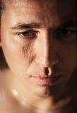 человек хныкая стоковая фотография rf