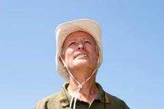 человек хуторянина счастливый стоковые фото