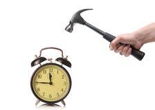 человек часов пролома старый к Стоковые Изображения RF