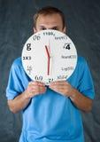 человек часов Стоковые Фотографии RF