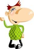 человек шаржа смешной малый Стоковая Фотография RF