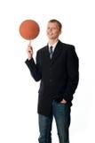 человек шарика Стоковое Изображение RF