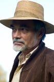человек шлема Стоковая Фотография