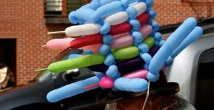 Человек шляпы воздушного шара Стоковые Изображения