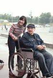 человек экипажа инвалидный Стоковая Фотография RF