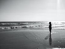 Человек ‹Alone†стоковые изображения
