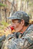 человек 2 пить кофе Стоковые Фотографии RF