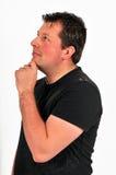человек 44 участливый Стоковая Фотография