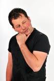 человек 45 участливый Стоковые Фотографии RF