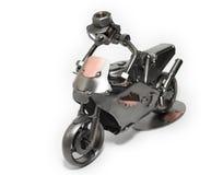 человек bike Стоковая Фотография