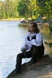 человек costume исторический Стоковая Фотография RF