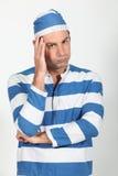 человек costume каторжник Стоковые Фото