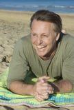 человек forties счастливый Стоковая Фотография RF