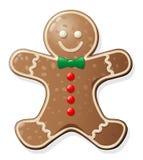 человек gingerbread печенья стоковое фото