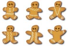 человек gingerbread Стоковое Изображение RF