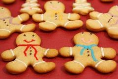 человек gingerbread Стоковые Фото