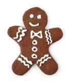 Человек Gingerbread Стоковое Изображение