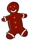 человек gingerbread иллюстрация вектора