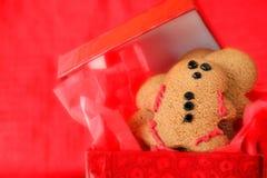 человек gingerbread Стоковые Фотографии RF