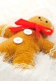 человек gingerbread Стоковые Изображения