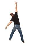 человек hang стоковое фото rf