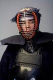 человек kendo принципиальной схемы искусств военный Стоковые Изображения