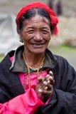 Человек Khampa Стоковая Фотография