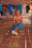 Человек Lahu, Таиланд стоковое изображение rf
