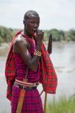Человек Maasai Стоковое Изображение RF