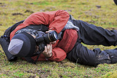 человек photoing Стоковая Фотография