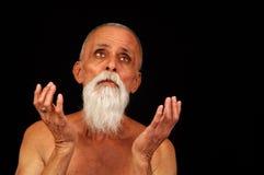 человек prayerful Стоковые Фото