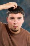 человек quizzical Стоковая Фотография RF
