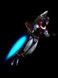 Человек Rocket Стоковое Фото