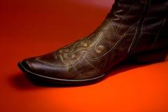 человек s ботинка Стоковые Изображения RF