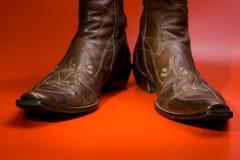 человек s ботинок Стоковая Фотография RF