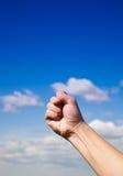 человек s кулачка Стоковые Фото