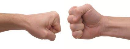 человек s кулачка Стоковая Фотография RF