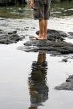 человек s ног Стоковые Фотографии RF