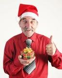 человек santa стоковая фотография rf